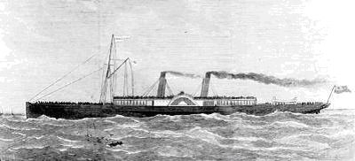 The paddle steamer Princess Alice